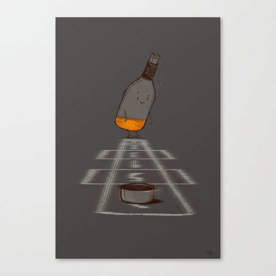 Hop Scotch Canvas Print