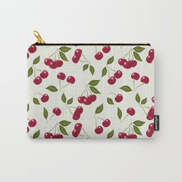Cherry pattern . No. 1 Carry-All Pouch
