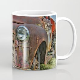 Old Tanker Truck Coffee Mug