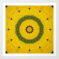 bees Art Prints featuring Bees by Deborah Janke