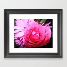 Accept The Thorn In Which It Bears Framed Art Print