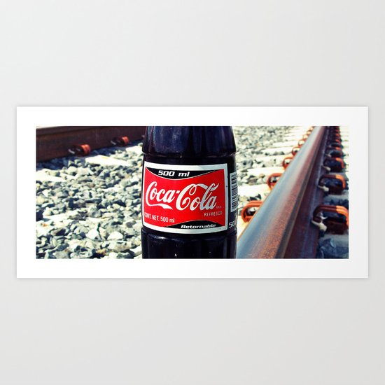 Railway Cola Art Print