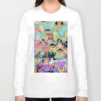 it crowd Long Sleeve T-shirts featuring Crowd by Joseph Falzon