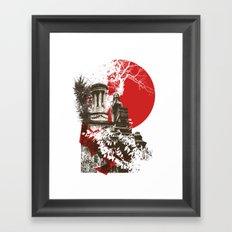 Cemetary View Framed Art Print