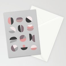 Pastel Geometry 4 Stationery Cards