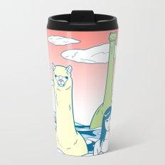 Animals & Sea Metal Travel Mug