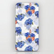 Cape Cod Hydrangeas and Baskets iPhone & iPod Skin