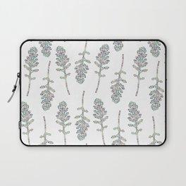 Eruca sativa (arugula) leaf Laptop Sleeve