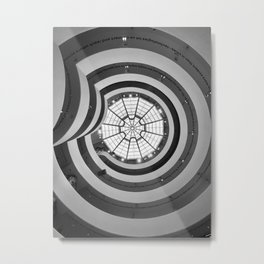 The Spiral  Metal Print