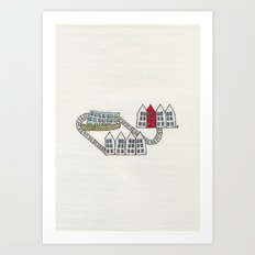No, not here either. Art Print