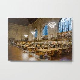 New York Public Library Metal Print