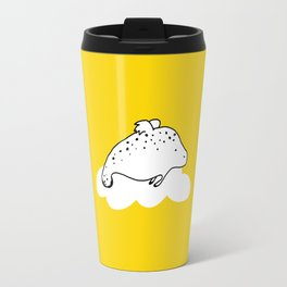 Flying Manatee by Amanda Jones Travel Mug