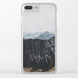interstellar - landscape photography Clear iPhone Case
