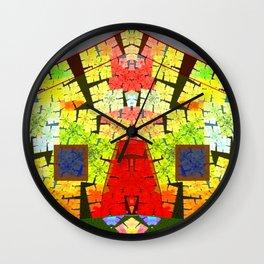 Old house of fun Wall Clock