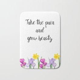 Grow Beauty Bath Mat