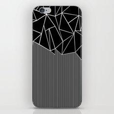 Ab Lines Black iPhone & iPod Skin