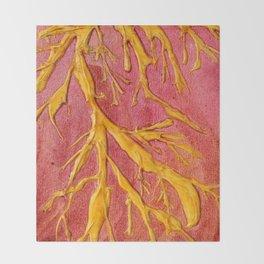 Roots Throw Blanket
