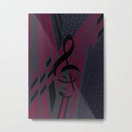 Musical Dimensions Metal Print