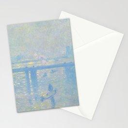 "Claude Monet ""Charing Cross Bridge"" (1899) Stationery Cards"
