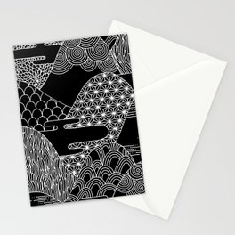 Cosmic Mountains Stationery Cards