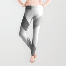 Crossed X Silver Leggings