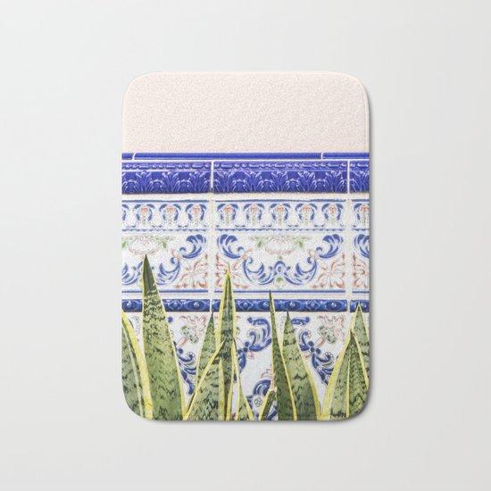 Moroccan Botany #society6 #decor #buyart Bath Mat