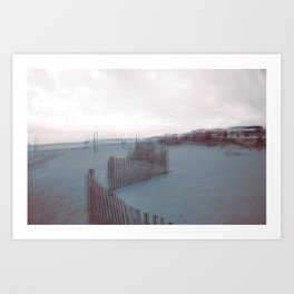 Beach Visions Art Print