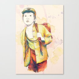 Short Round - Secondary character? Never! Canvas Print