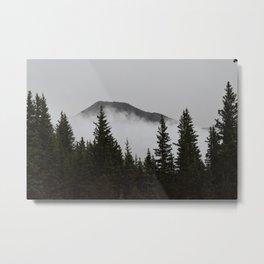 West Peak Metal Print