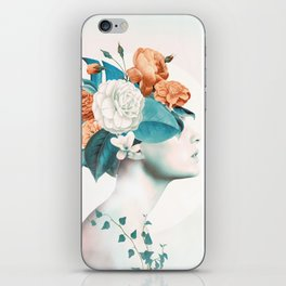 Floral beauty 2a iPhone Skin