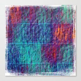 Floating Lines Canvas Print