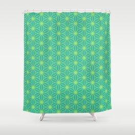 Japanese kimono pattern Shower Curtain