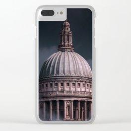 Saint Paul - London Clear iPhone Case