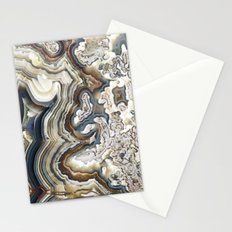 Blue Agate Stationery Cards