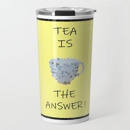 Yellow tea Travel Mug