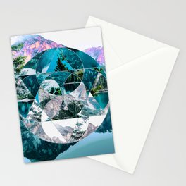 Misplaced Circle Stationery Cards