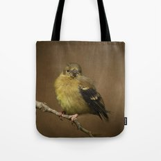 Baby Female Goldfinch Tote Bag