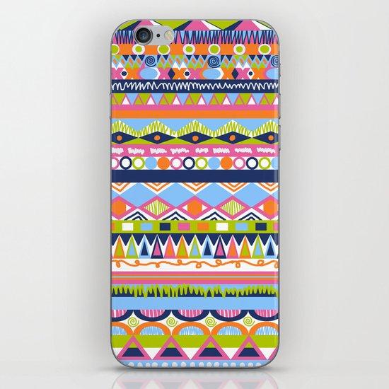 Summer Doodle iPhone & iPod Skin