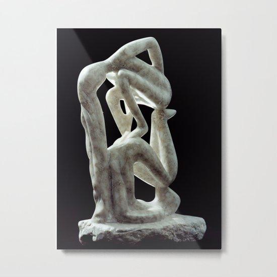 Amnon and Tamar by Shimon Drory Metal Print