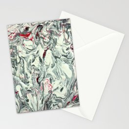 PURO PLATA CON ROJO (Pure Silver with Red) Stationery Cards