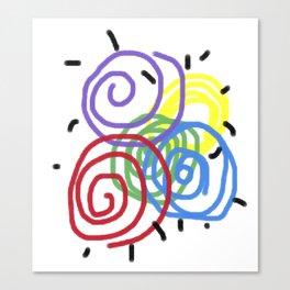 Children Flashback Canvas Print