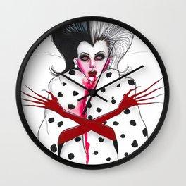 Cruella Wall Clock