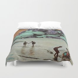 We Can Always Afford The Luxury Of Dreaming Duvet Cover