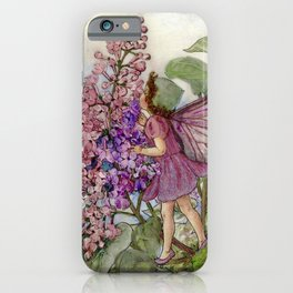 """""""The Lilic Fairy"""" by Cicely Mary Barker iPhone Case"""