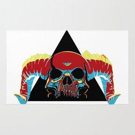 Illuminati Satan - Lucifer Rug