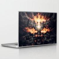 diablo Laptop & iPad Skins featuring Diablo by dracorubio
