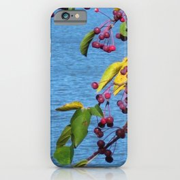 Berries at the Lake iPhone Case