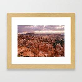Sunset Point 6173 - Bryce_Canyon_National_Park, UT Framed Art Print