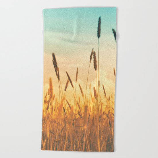 Sky Beach Towel