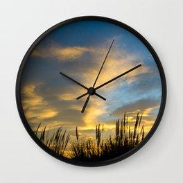 Camargue Sunrise  Wall Clock